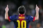 Satu gol lagi Lionel Messi akan memcahkan rekor top skorer sepanjang masa di la liga. Ist/dokume
