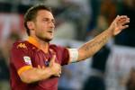Francesco Totti menjadi andalan AS Roma saat melawan Bayern Munich. Ist/italianfootballdaily.com