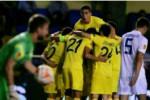 Para pemain Villarreal merayakan gol kemenangan melawan FC Zurich. Ist/Liputan6.com