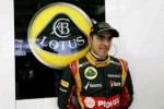 Pembalap tim Lotus, Pastor Maldonado, optimistis akan meraih poin di GP AS. Ist/lotuscars.com