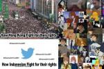TRENDING SOSMED : Begini Perbedaan Demonstrasi di Hong Kong dan Indonesia