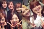 SNSD mengunjungi lokasi shooting Sooyoung (Soompi.com)