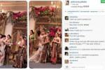 Syahrini saat di acara resepsi pernikahan Raffi dan Gigi (Instagram)