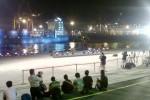 Terminal 003 Pelabuhan Tanjung Priok mulai dipenuhi awak media massa menyusul ditetapkannya rencana pengumuman Kabinet Jokowi-JK, Rabu (22/10/2014). Semula beredar informasi Presiden Joko Widodo dan wakil Presiden Jusuf Kalla (Jokowi-JK) akan mengumumkan nama-nama menteri mereka pada pukul 17.00 WIB, namun belakangan dinyatakan diundur sampai 19.00 WIB. Pada kenyataannya, hingga pukul 19.00 WIB berlalu, Jokowi-JK belum juga mengumumkan kabinet mereka. (Akhirul Anwar/JIBI/Bisnis)