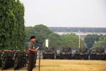 Panglima TNI Jenderal Moeldoko memimpin apel pasukan TNI dan Polri di Senayan, Jakarta Selatan, Kamis (16/10/2014). Apel gabungan yang melibatkan 24.000 pasukan ini dalam rangka persiapan pengamanan jelang upacara pelantikan presiden dan wakil presiden pada 20 Oktober mendatang. (JIBI/Solopos/Antara/Vitalis Yogi Trisna)