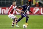 Laga Arsenal saat melawan Anderlecht di kualifikasi grup Liga Champions. JIBI/Reuters/Dok