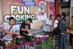 Lomba masak nasi goreng menjadi salah satu rangkaian perayaan Anniversary A.Takrib ke-59. (Abdul Hamied Razak/JIBI/Harian Jogja)