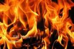 Rumah Penitipan Sepeda Motor di Godean Terbakar