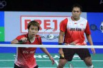 Pasangan ganda putra Indonesia Markis Kido/Gideon akhirnya juga tumbang di semifinal. Ist/PBSI