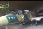 Pesawat tempur Suriah yang dirampas ISIS. (Courtesi video Reuters)
