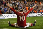 Wayne Rooney, gelandang serang andalan MU diperkirakan akn turun di derby Manchester. Ist/Dok/google image