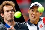 Andy Murray dan Kei Nishikori melaju ke perempatfinal Paris Masters 2014. Ist/espncdn.com