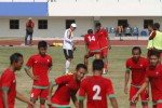 Pelatih Persis Solo Widyantoro saat memberi arahan kepada pemainnya. JIBI/Solopos/Ardiansyah