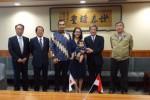 GKR Bendara dan KPH Yudanegara saat berkunjung ke kantor Prefektur Yamanashi, Jepang, 20 Oktober 2014 lalu. (Foto Dokumen KPH Yudhanegara)