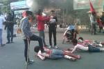 Aksi demonstrasi penolakan kenaikan harga bbm (JIBI/Harian Jogja/Sunartono)