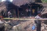 Kondisi rumah Wagiran usai kebakaran, Jumat (21/11/2014). (JIBI/Harian Jogja/Dok. Polsek Karangmojo)