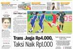 Harian Jogja Edisi Sabtu Pahing, 29 November 2014 (JIBI/Harian Jogja/dok)