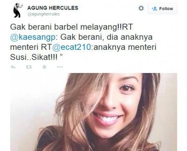 Agung Hercules dan Kaesang Pengarep Guyon Soal Anak Menteri Susi (twitter)