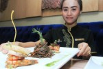 FOTO KULINER SOLO : The Sunan Kenalkan Spaghetti Black Pasta