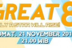 Great 8 Rising Star Indonesia (Facebook)