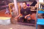 Gunadi, mantan pemburu harta karun di Joho, Sukoharjo (Aries Susanto/JIBI/Solopos)