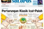Halaman Depan Harian Umum Solopos edisi Kamis, 27 November 2014