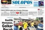 Halaman Depan Harian Umum Solopos edisi Rabu, 26 November 2014