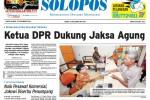 Halaman Depan Harian Umum Solopos edisi Sabtu, 22 November 2014