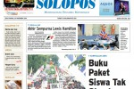 Halaman Depan Harian Umum Solopos edisi Senin, 24 November 2014