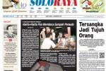 Halaman Soloraya Harian Umum Solopos edisi Sabtu, 1 November 2014