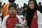 Michael Sutanto, 12, dan Natasha Emanuelle, 13, memenangi lomba robot dunia di ajang 11th World Robot Olympiad Russia 2014 di Kota Sochi, Rusia, Jumat-Minggu (21-23/11/2014). (JIBI/Solopos/Istimewa)