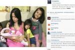 Jessica Iskandar dan Anak Susunya (instagram.com)