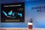 Jokowi Presentasi di APEC CEO Summit (youtube)