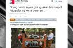 TRENDING SOSMED : Heboh Fotografer Tak Sopan di Nguras Enceh, Begini Komentar Arbain Rambey