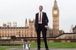 Manusia tertinggi dan terpendek di dunia (Daily Mail)