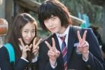 Park Shin Hye dan Lee Jong Suk di drama Pinocchio (Soompi)
