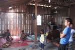 Suasana di dalam rumah nenek Ngatiyem, 70, di Dusun Seling, RT 002/RW 001 Desa Karangjati Kecamatan Wonosegoro, Boyolali. Minggu (9/11/2014) . (Irsyam Faiz/JIBI/Solopos)