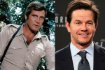 Peran Lee Majors (kiri) akan digantikan Mark Wahlberg (kanan) dalam remake The Six Million Dollar Man (IGN)