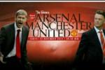 Arsene Wenger dan Louis van Gaal akan beradu strategi dalam big match Liga Premier. Ist/Liputan6.com