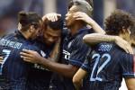 Para pemain Inter Milan melakukan selebrasi dalam sebuah laga kualifikasi Liga Europa. Ist/Dok