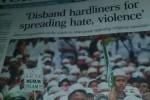 The Straits Times Singapura bikin berita soala Ahok vs FPI (JIBI/Detik)