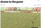 Pertandingan Pantai Gading melawan Kamerun (JIBI/Harian Jogja/Marca)