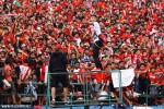 Suporter Persis Solo Pasoepati saat beraksi di Stadion Manahan Solo. JIBI/Solopos/Dok