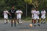 Pemain Persis Junior melakukan latihan di depan Stadion Manahan Solo. JIBI/Solopos/Dokumentasi