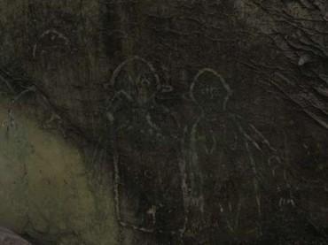 Gambar ini sempat diduga alien (Kaskus/Itong7her18)