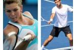 Simona Halep dan Grigor Dimitrov menjadi atlet terbaik di negarany masing-masing. Ist/Dok