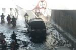 Begini kondisi underpass di Makamhaji kala banjir (JIBI/Solopos/Dok.)