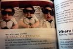 El Barack Alexander di buku Jessica Iskandar Power Love Life Lord (Detik)