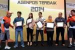 FOTO AGENPOS TERBAIK : PT Pos Berikan Penghargaan Agenpos