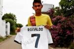 Foto Martunis yang diposting Christiano Ronaldo di akun Twitternya (Twitter)
